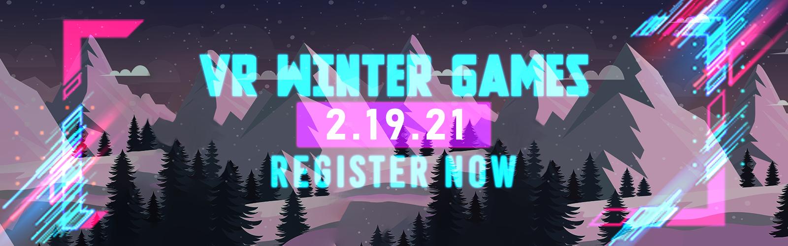 Register for the VR Winter Games
