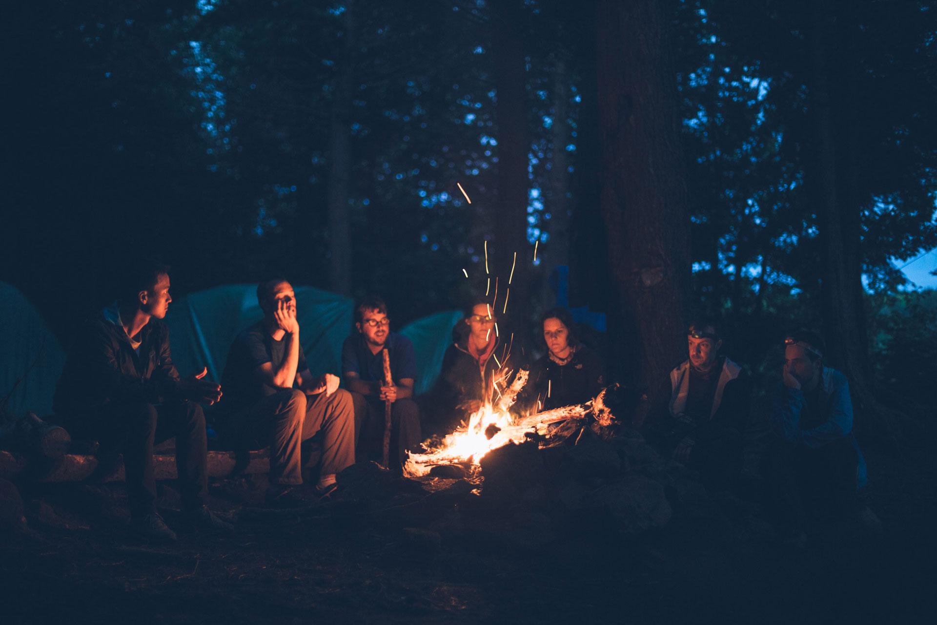 ELEX - Educational Leadership Expedition - mensen kamperen