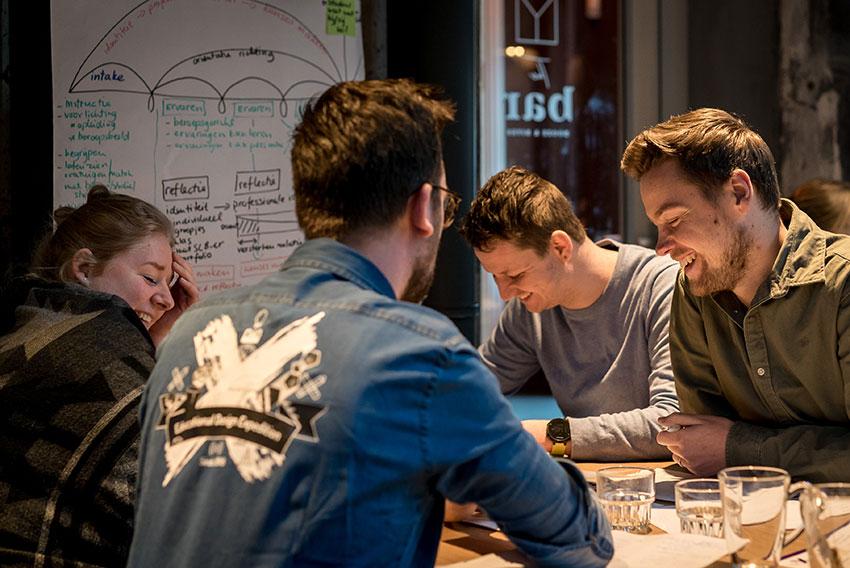 EDEX event - mensen werken met focus