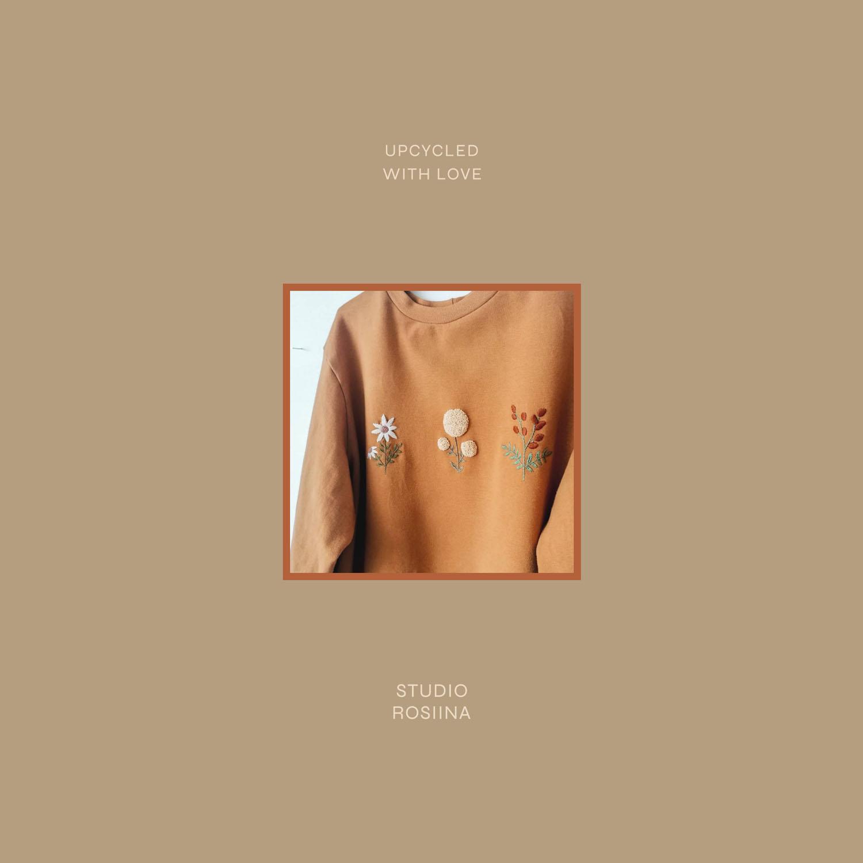 Studio Rosiinan slogan ja kuva vaatteesta