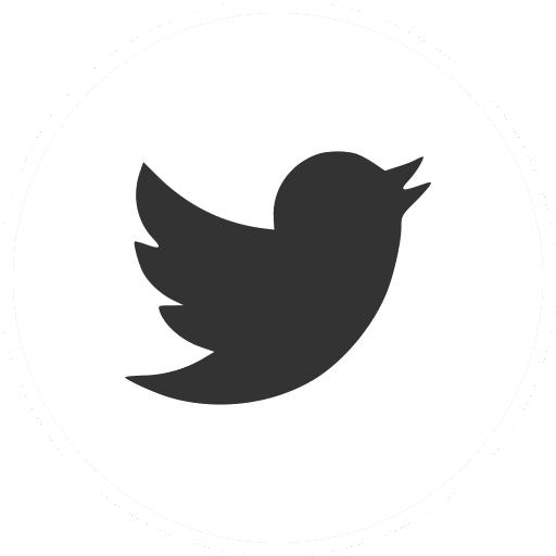 Pores App Twitter icon - black-white