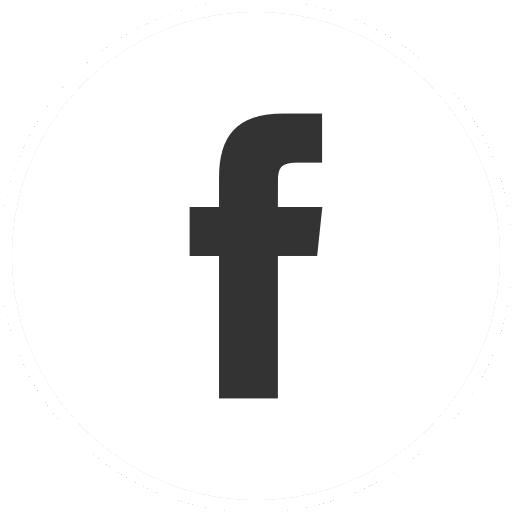 Pores App Facebook icon - black-white