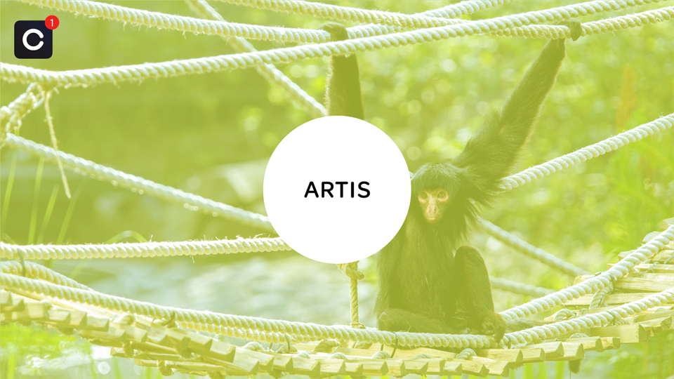 Artis zet Close app in om voor, tijdens en na het bezoek in contact te zijn met de gast