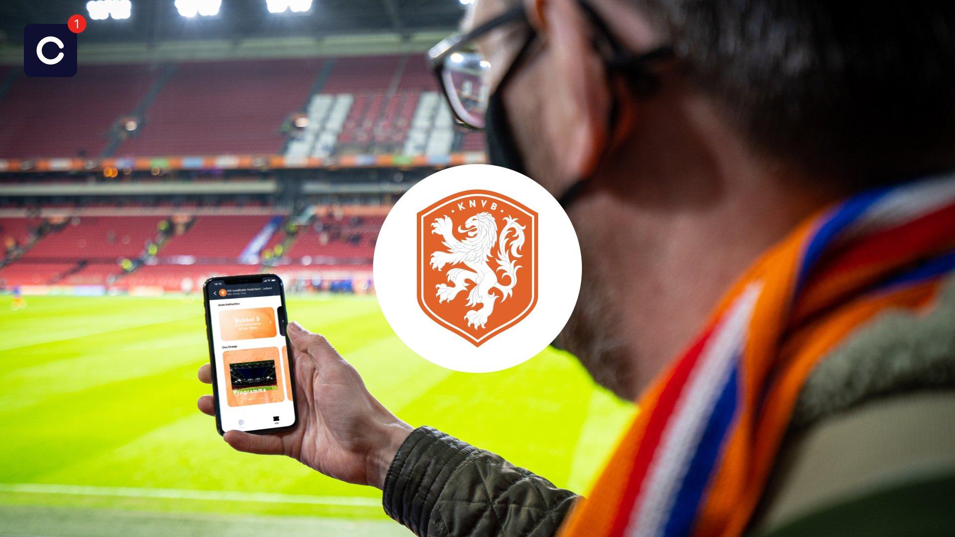KNVB zet nieuwe app Close in rond interland tegen Letland