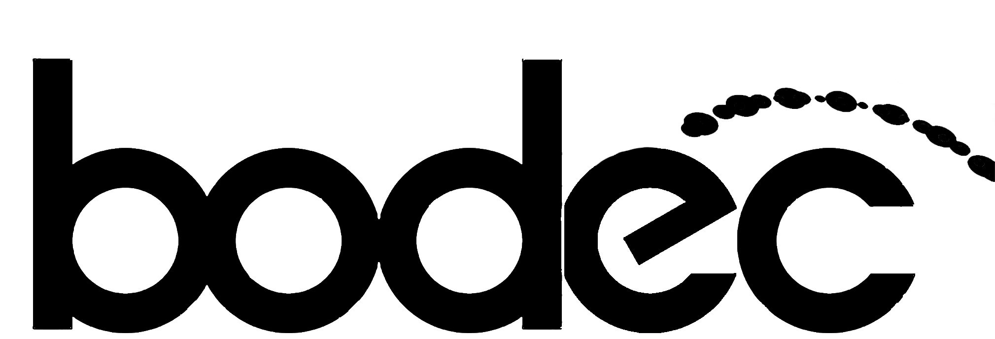 Bodec black & white logo