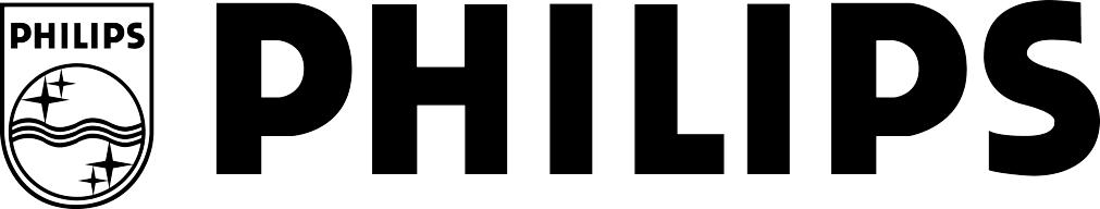 Philips black & white logo