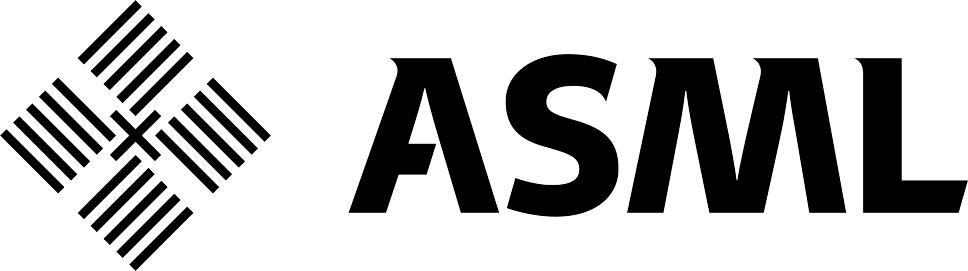 ASML black & white logo