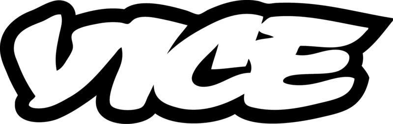 Vice black & white logo