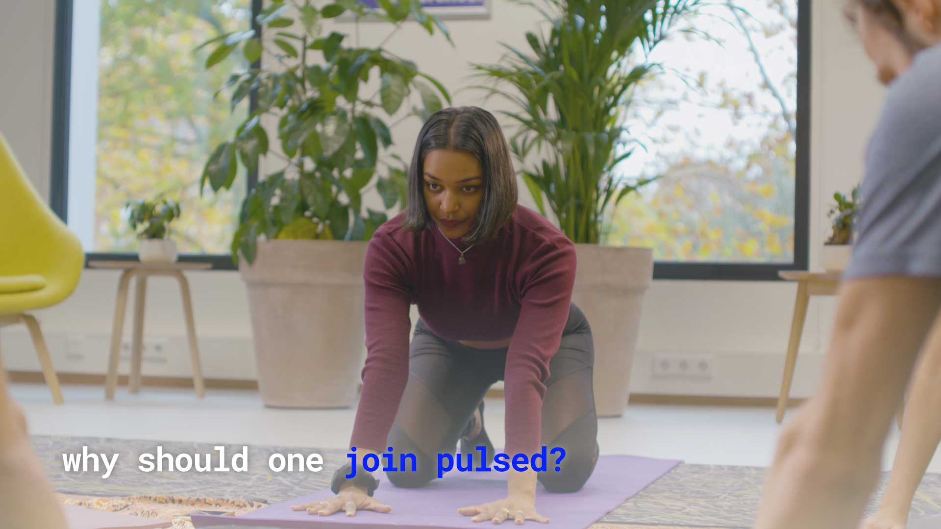 Vimeo video that answers the question of 'why should one join pulsed?'