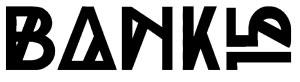 Bank15 black & white logo