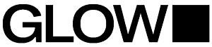 Glow black & white logo