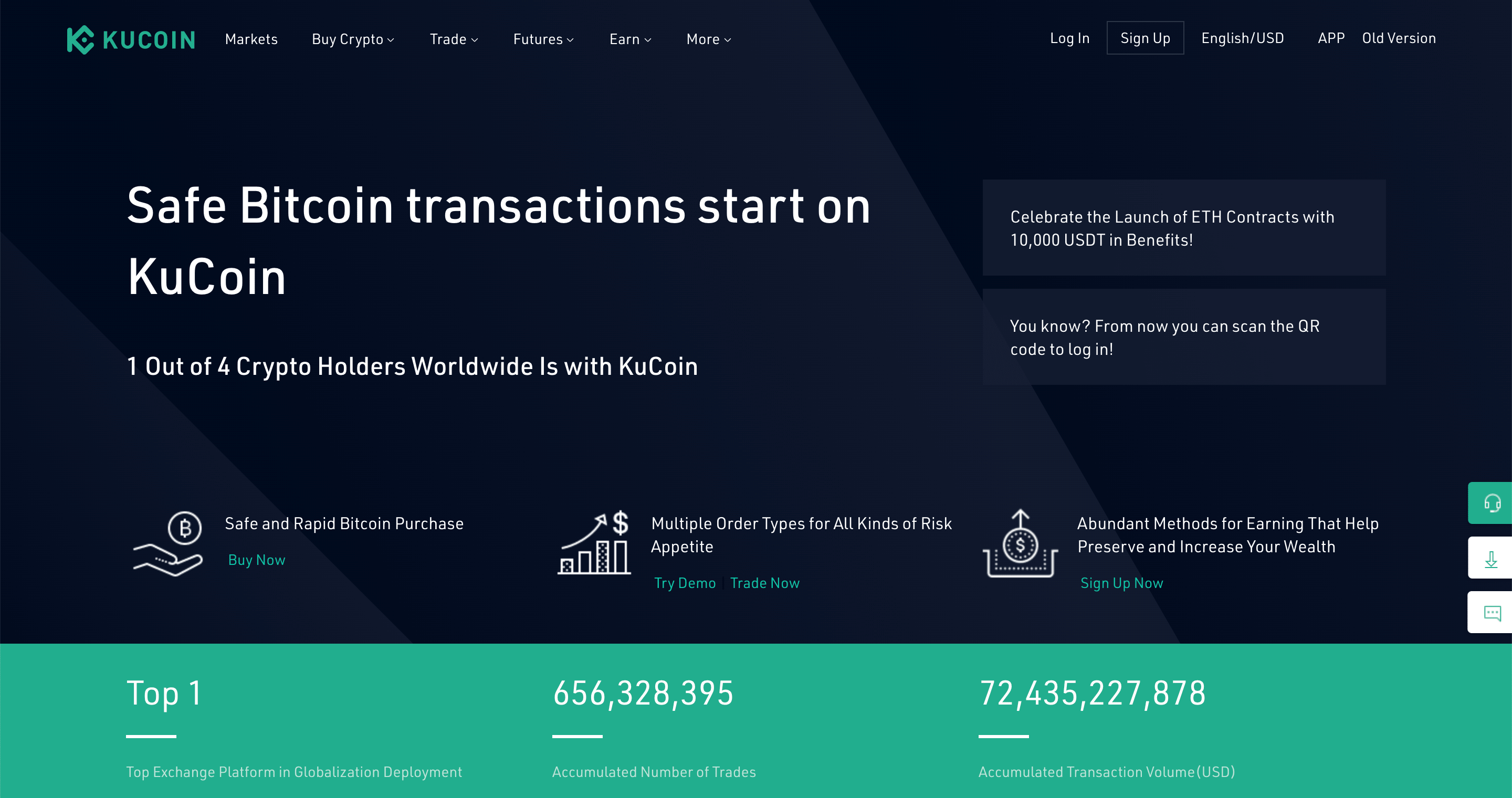 Kucoin extensive price API
