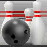 Tenpin bowling emoji BEEM