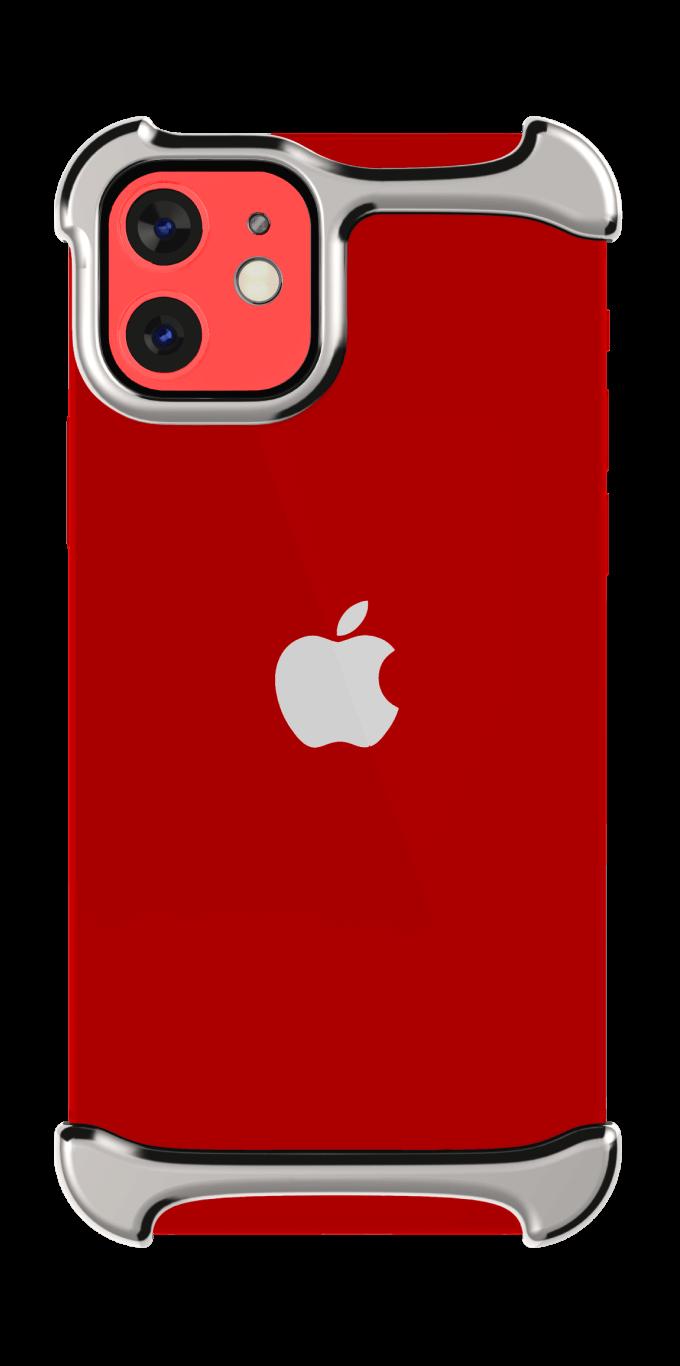 iPhone 12 Titanium red