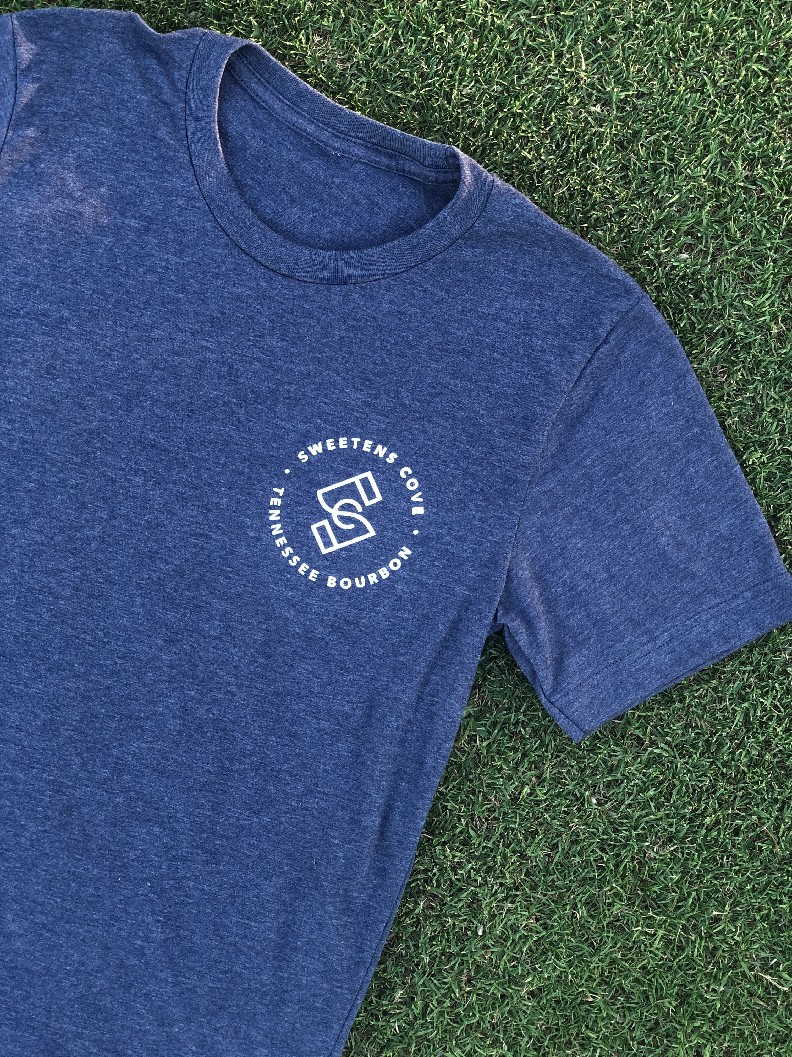 Sweetens Cove Spirits Company Shirt in Navy