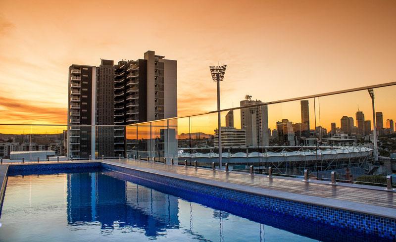 piscina condomínio