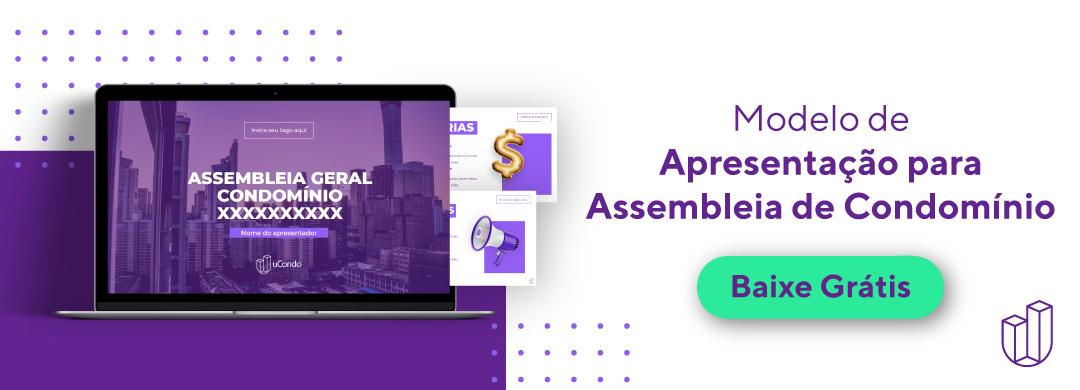 Modelo de apresentação para assembleias de condomínio - Download Gratuito