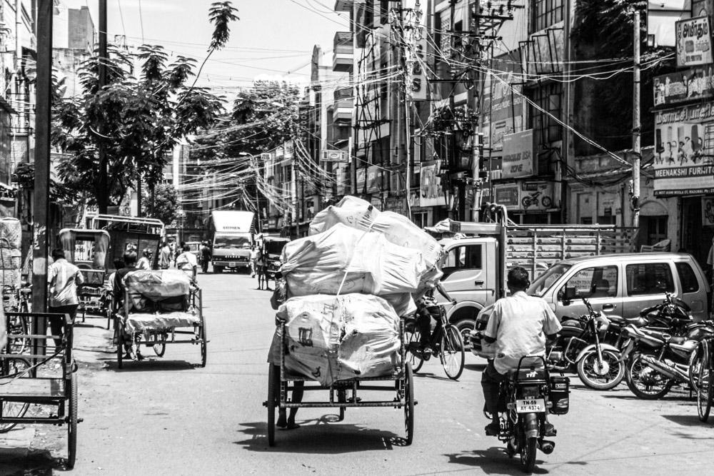 Traffic indien