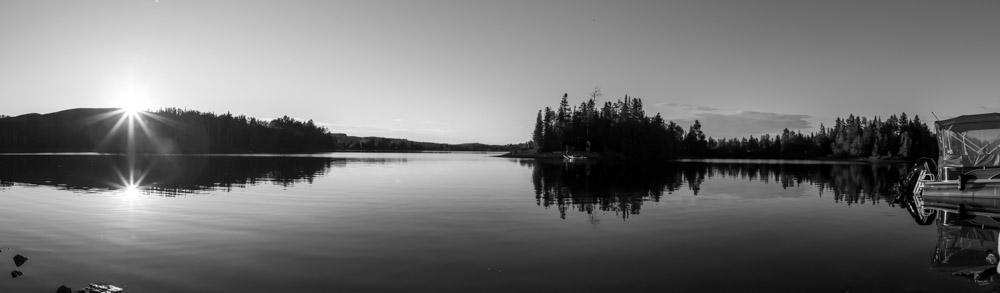 Ballade sur le lac