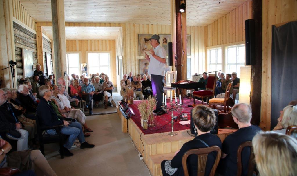 Konsertsalen på Villa Lunde. Foto: Knut Utler.