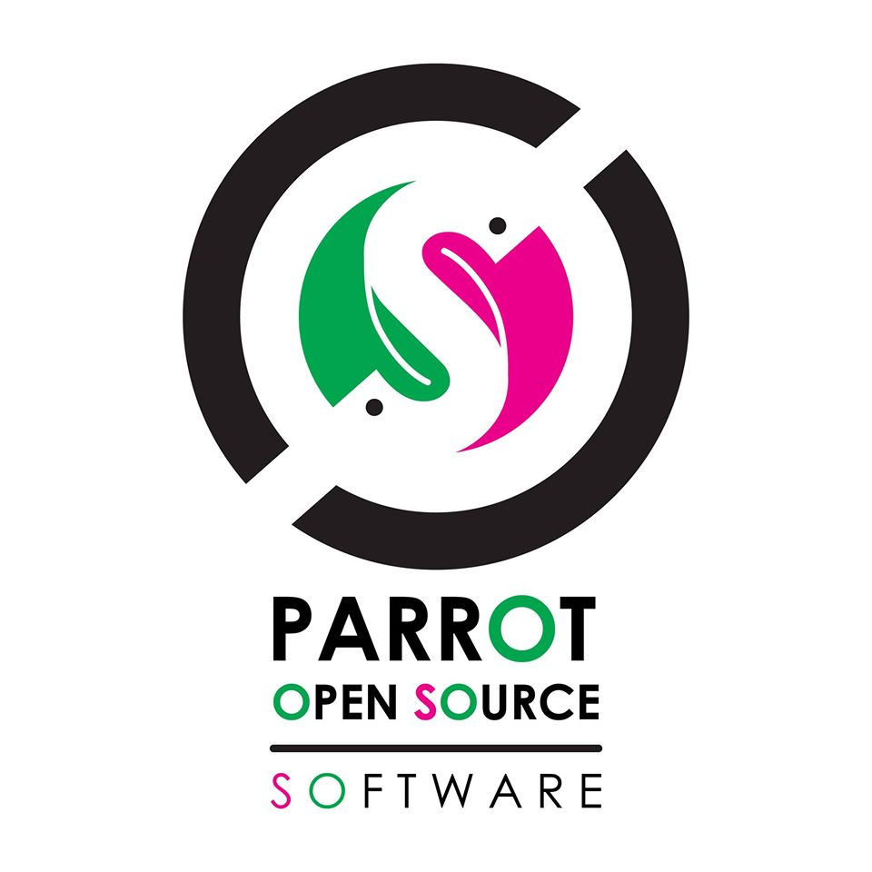 Parrot Open Source Logo Design