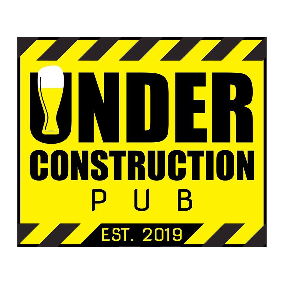 UNDER CONSTRUCTION PUB Logotype