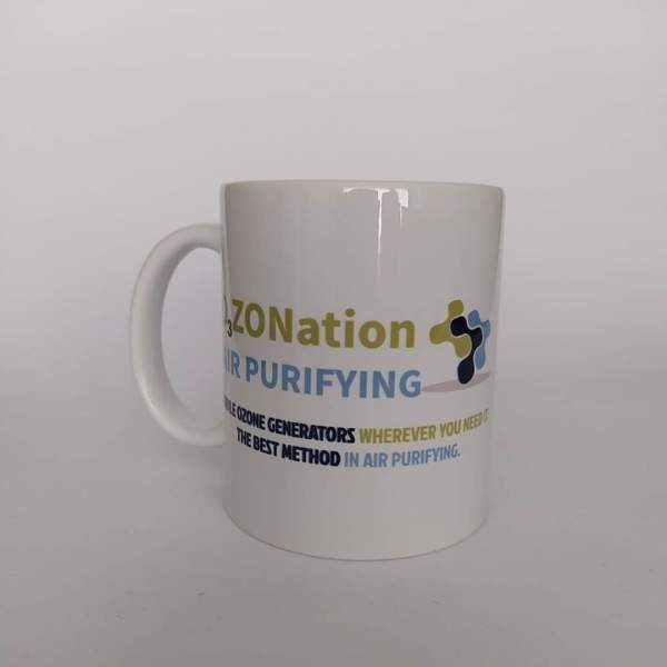O3ZONation Logo Printed on a mug