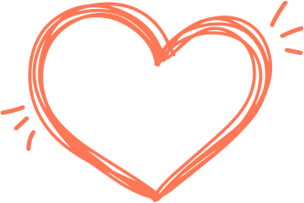 オレンジハート