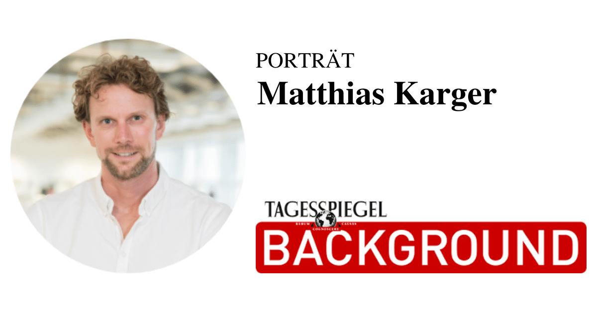 Porträt Matthias Karger