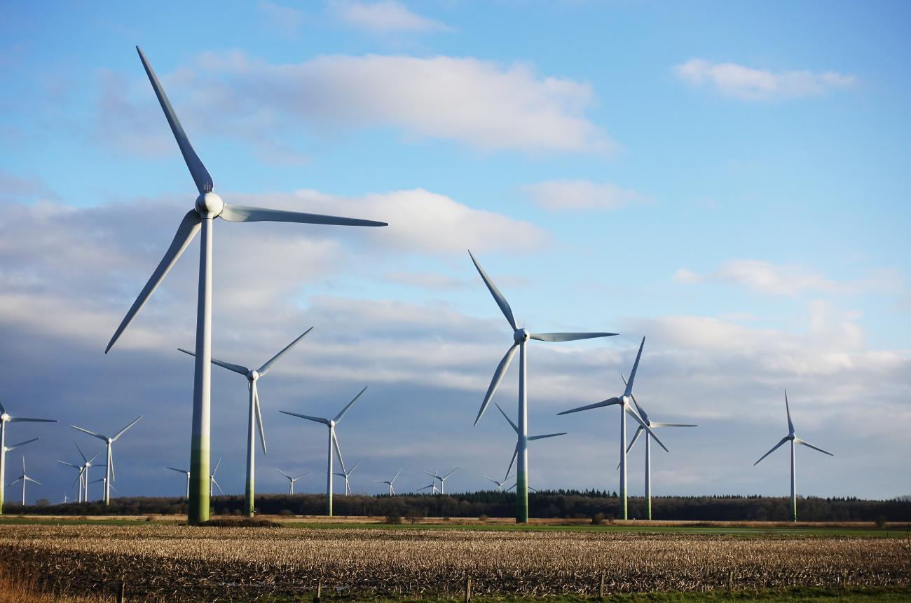 Windpark Drittmengenabgrenzung