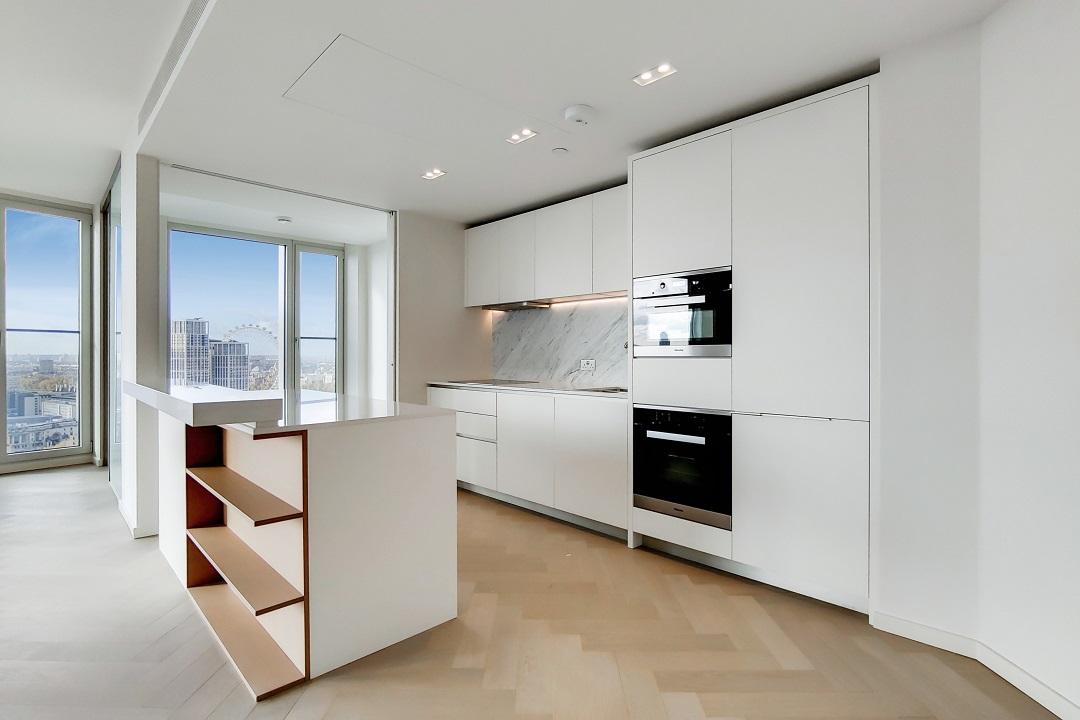 Kitchen in apartment 23.05
