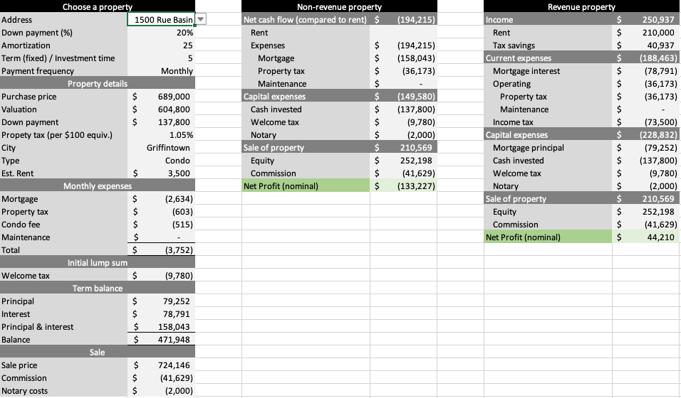 Excel Prototype
