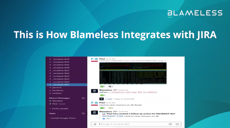 This is How Blameless Integrates with JIRA