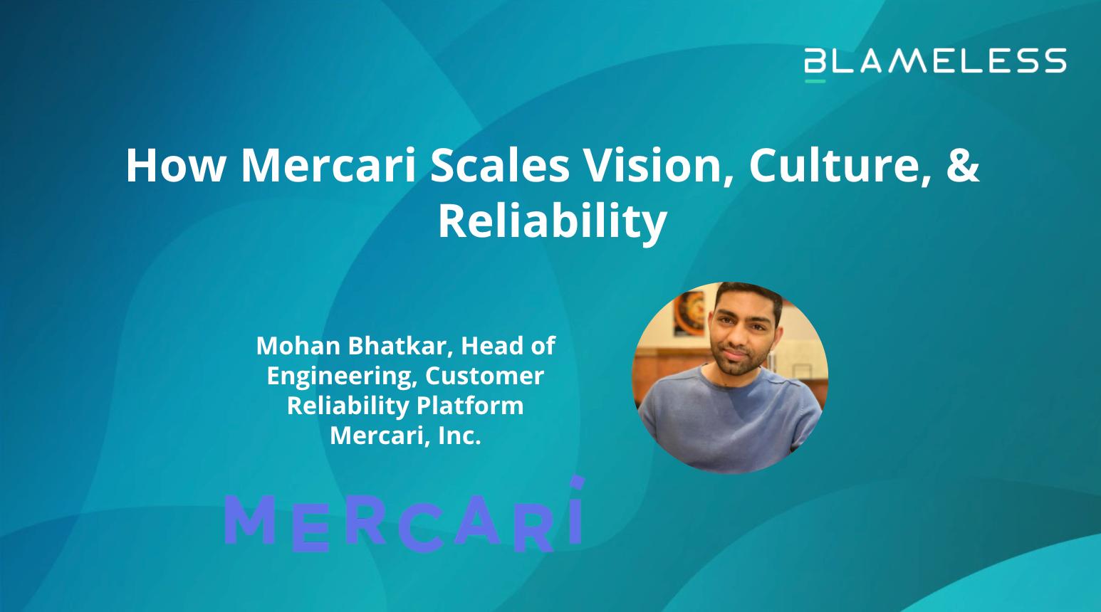 How Mercari Scales Vision, Culture, & Reliability (日本語)