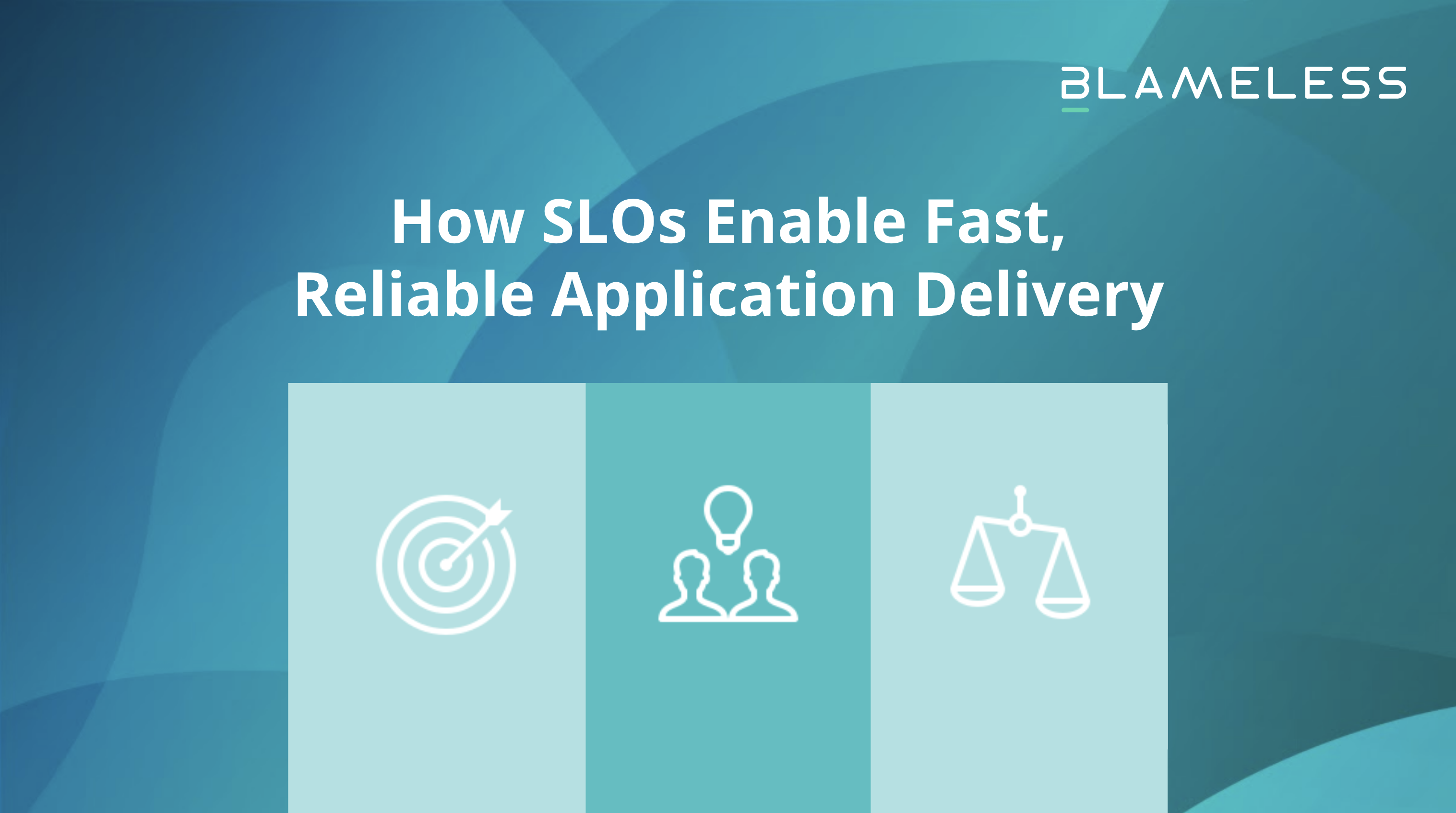 How SLOs Enable Fast, Reliable Application Delivery