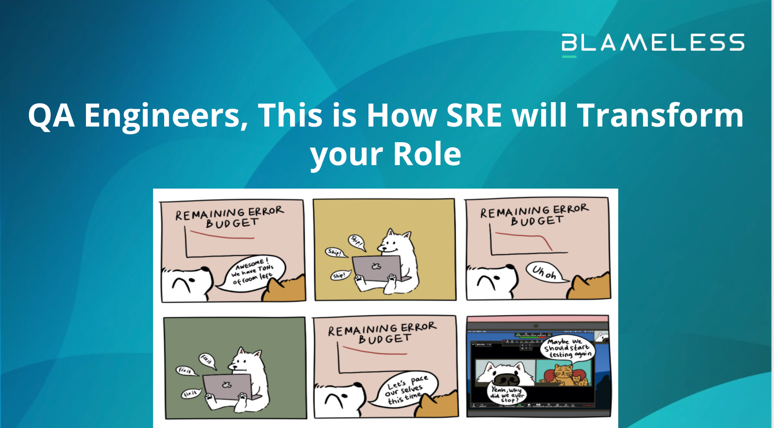 QA Engineers, This is How SRE will Transform your Role