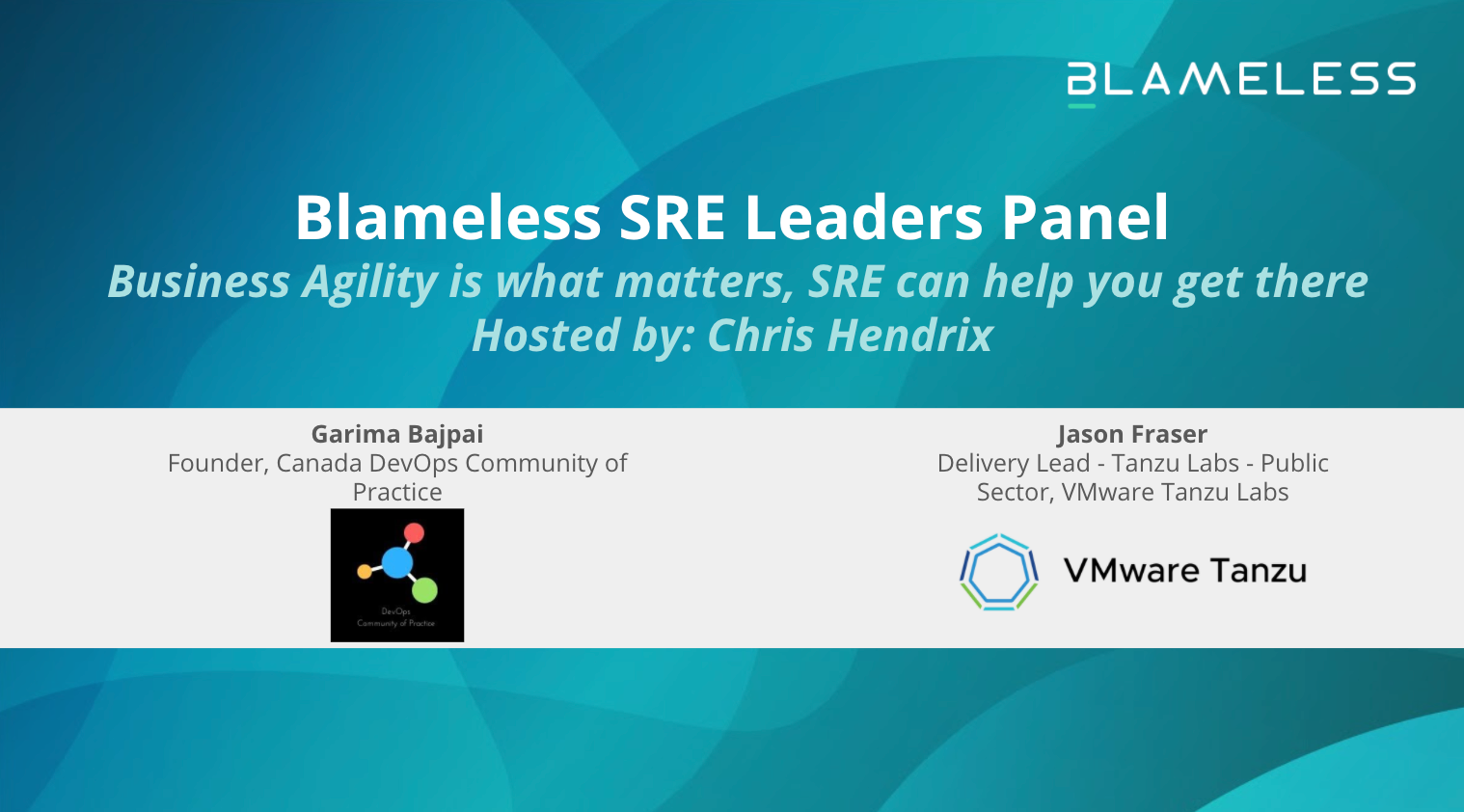 SRE Leaders Panel: Business Agility is what matters, SRE can help you get there