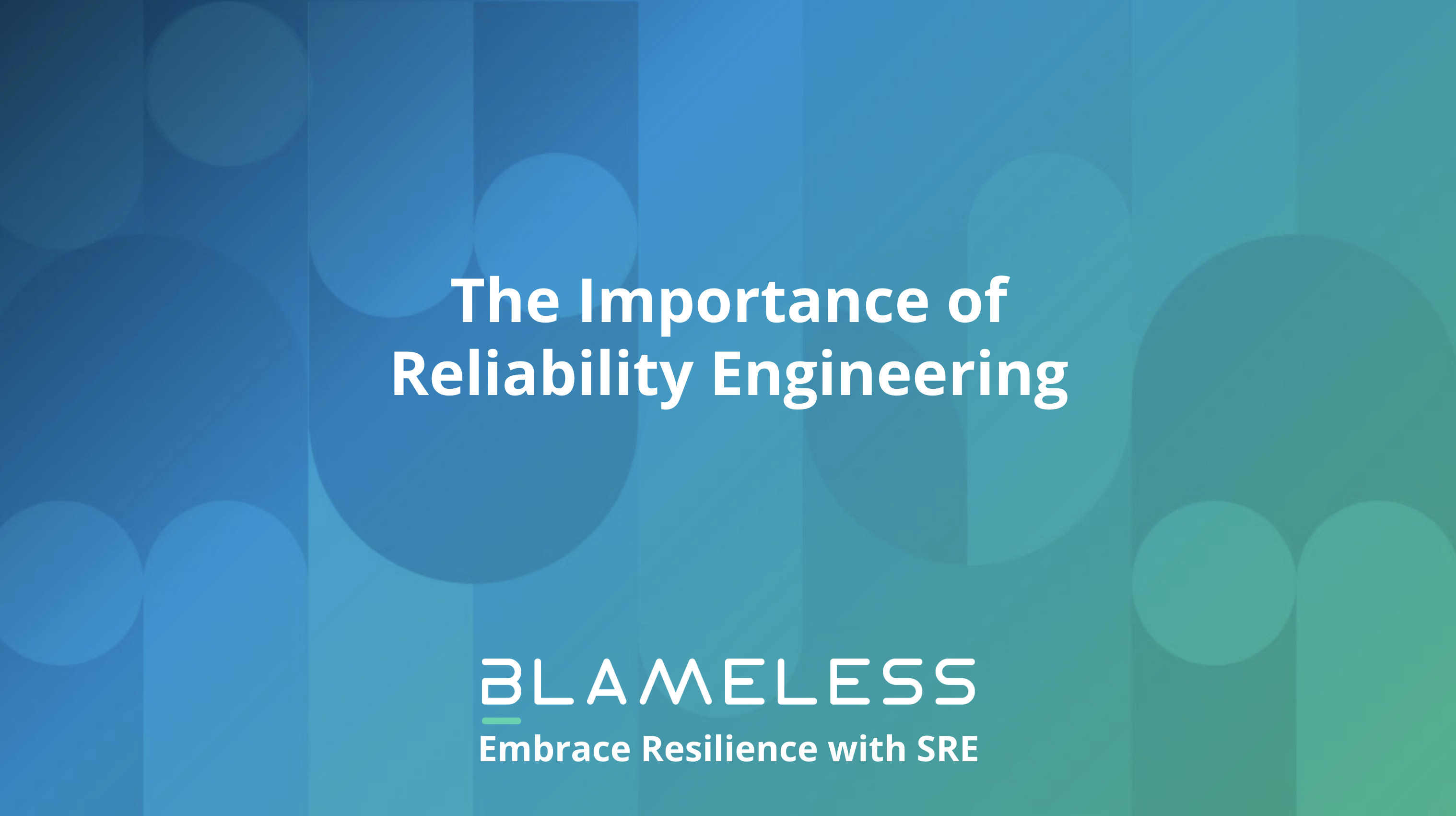 The Importance of Reliability Engineering
