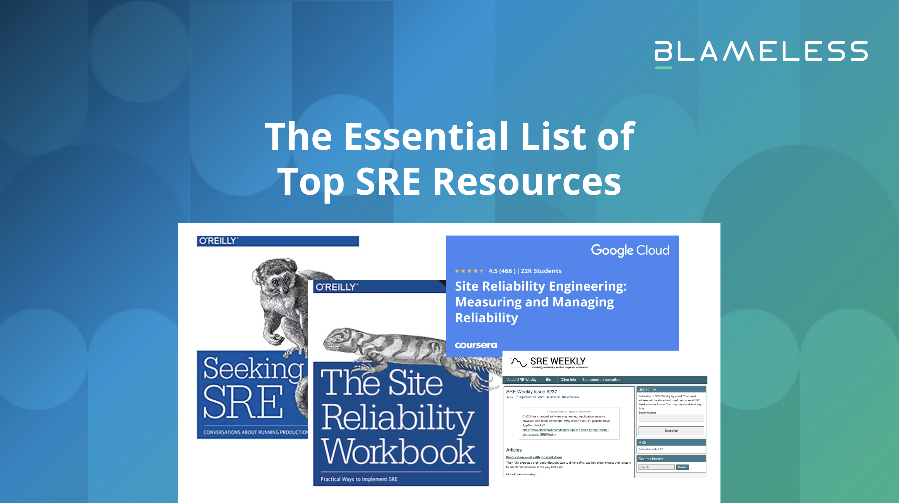 The Essential List of Top SRE Resources