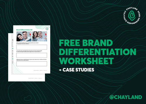 Do your competitors stand out more than you? We can change that. Each brand has less than 5 seconds to catch someone's eye or impress them. Your first impression matters and differentiation is the only way to stand out. Download Your Free Brand Differentiation Worksheet https://mailchi.mp/59ac5eb44de1/free-brand-differentiation-worksheet
