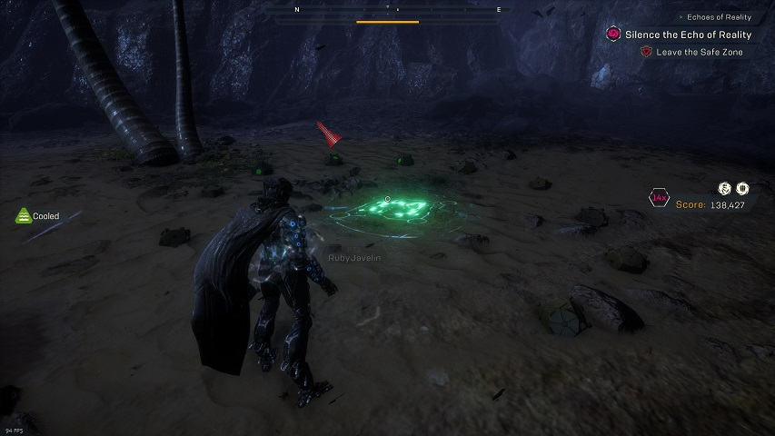 Anthem Cataclysm relic circle location, the Approach