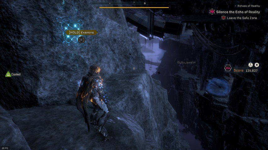 Anthem Cataclysm Time Rune location, the Approach