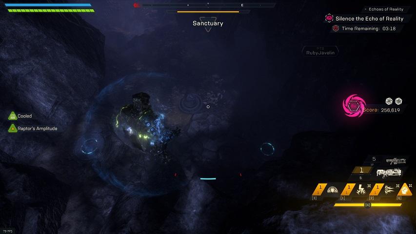 Anthem Cataclysm Crystal laser puzzle, near Vara