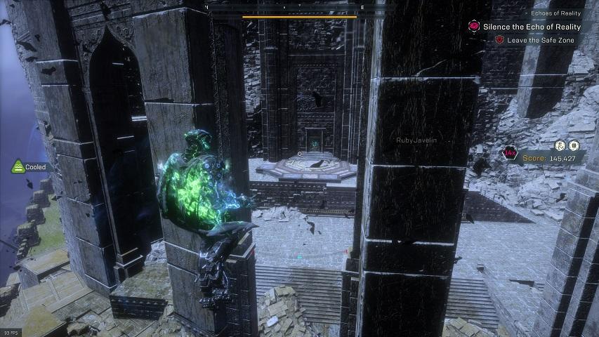 Anthem Cataclysm Time Rune location, New Dawn