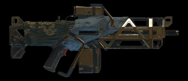 Elemental Rage Assault Rifle