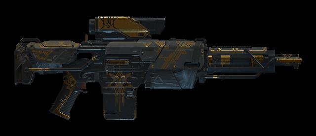 Artinia's Gambit Light Machine Gun
