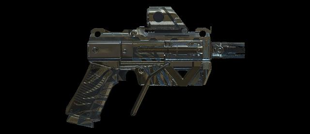 Retaliation of Garretus Machine Pistol