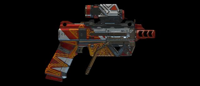 Vassa's Surprise Machine Pistol