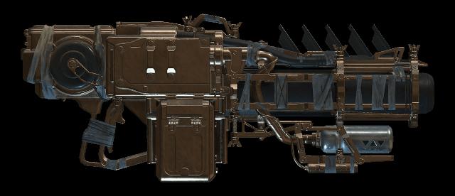 Sentinel's Vengeance Grenade Launcher