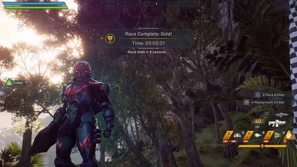 Anthem Storm Time Trial World Record - Smuggler's Run